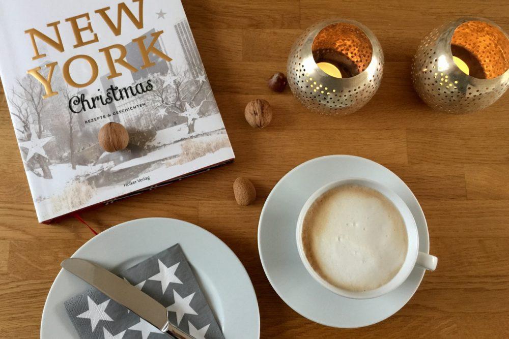 """Weihnachten: Frühstück mit dem Buch """"New York Christmas"""""""