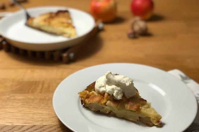 Französischer Apfel-Birnen-Kuchen