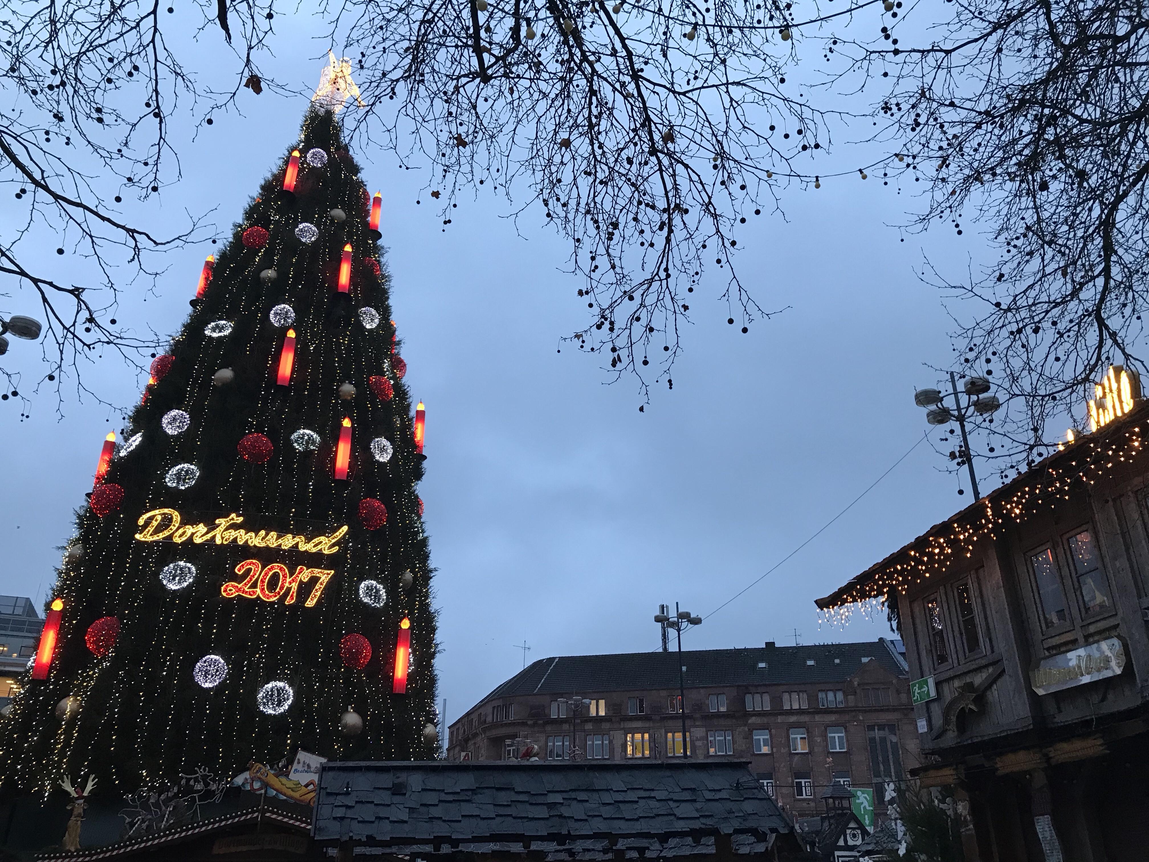 Weihnachten: Der große Weihnachtsbaum in Dortmund