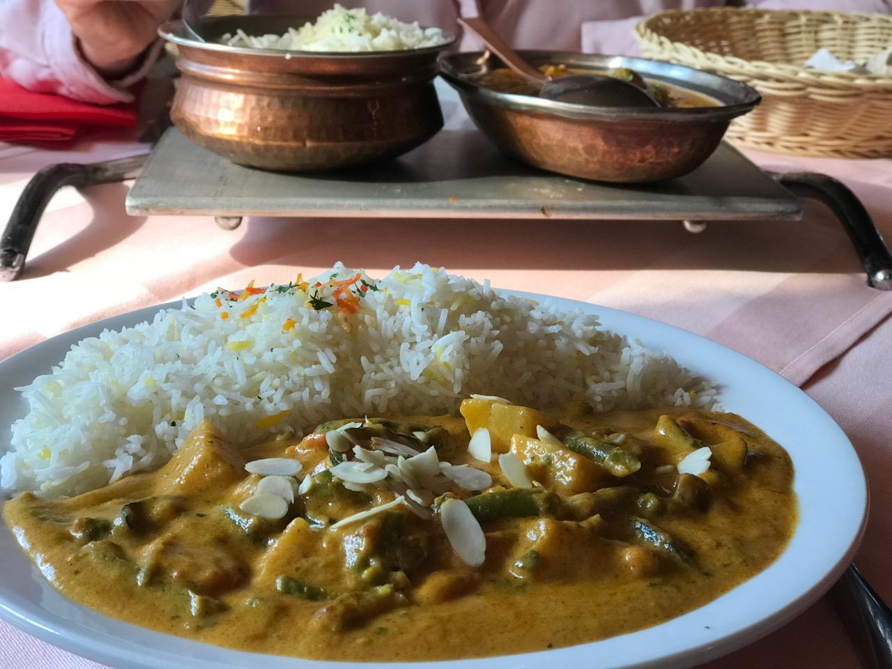 Inder: Mittagessen