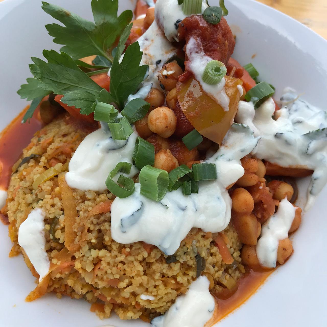 Luups: Ein Teller mit Couscous