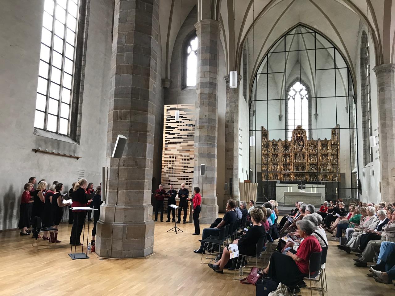 Klangvokal: Chor in der Petrikirche