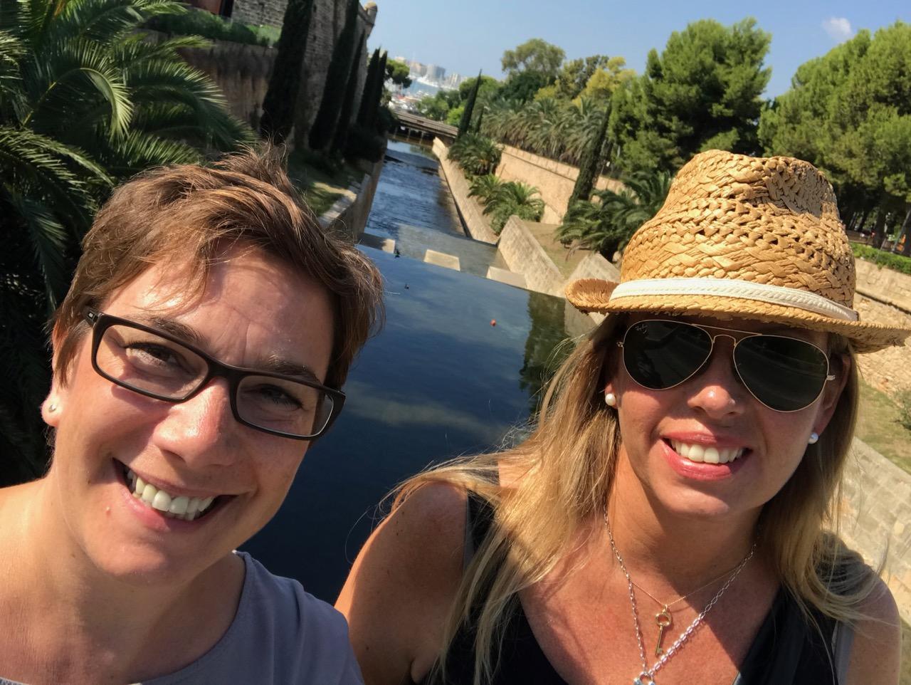Palma: Maren und ich