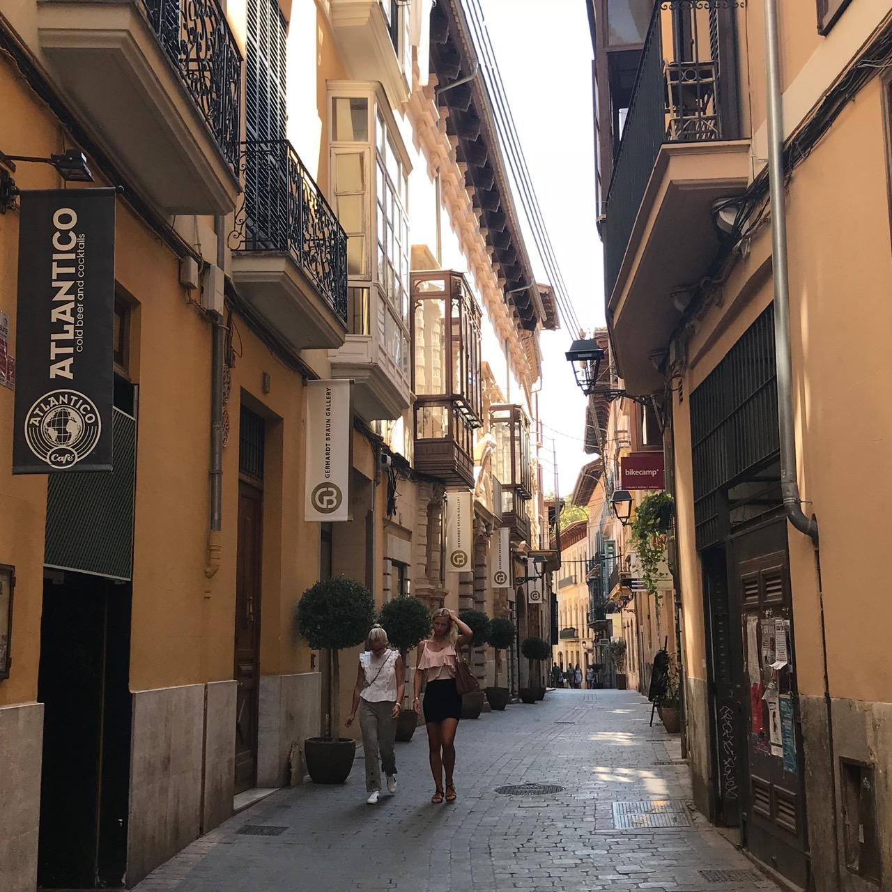 Palma: Gassen in der Altstadt