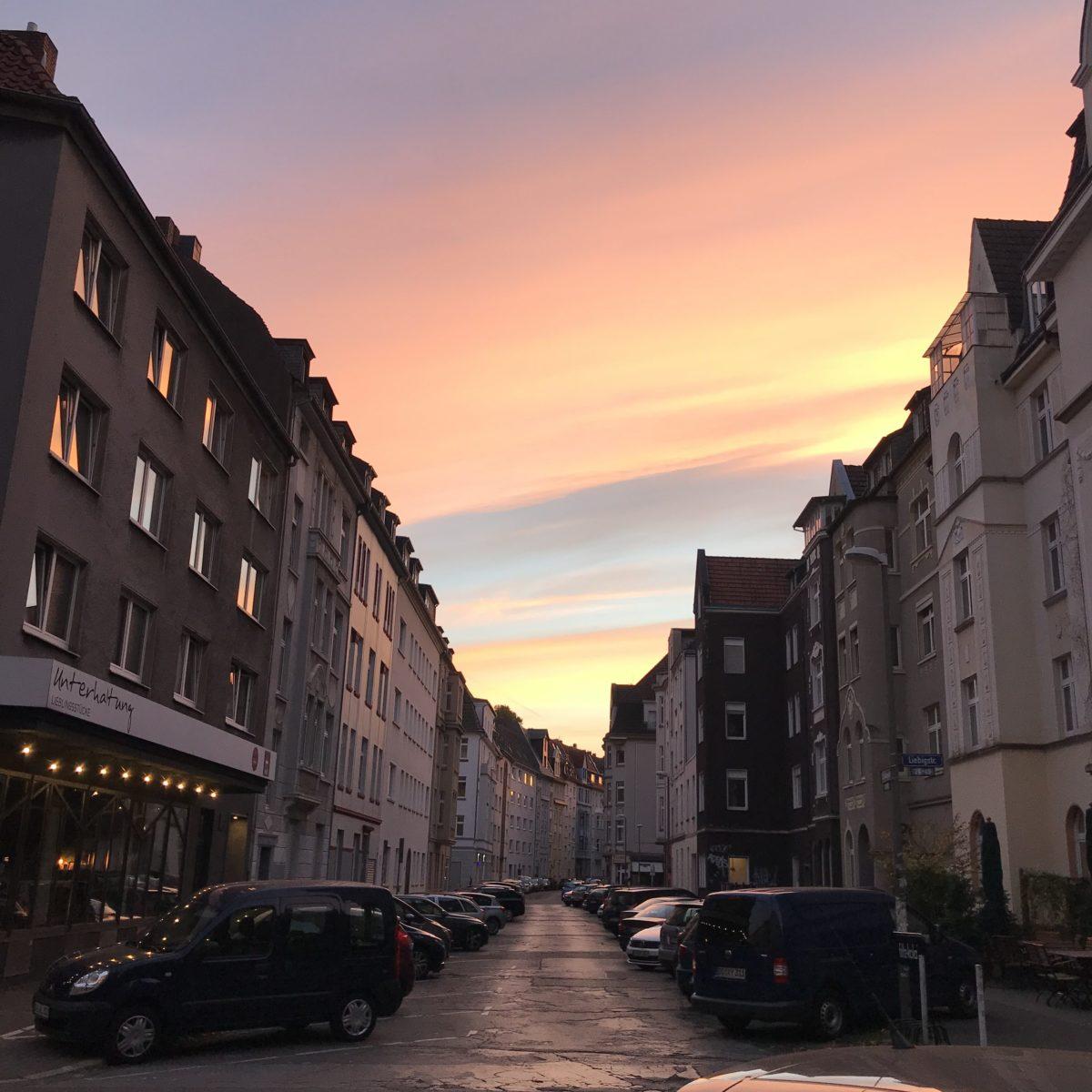 Sonnenaufgang im Kreuzviertel