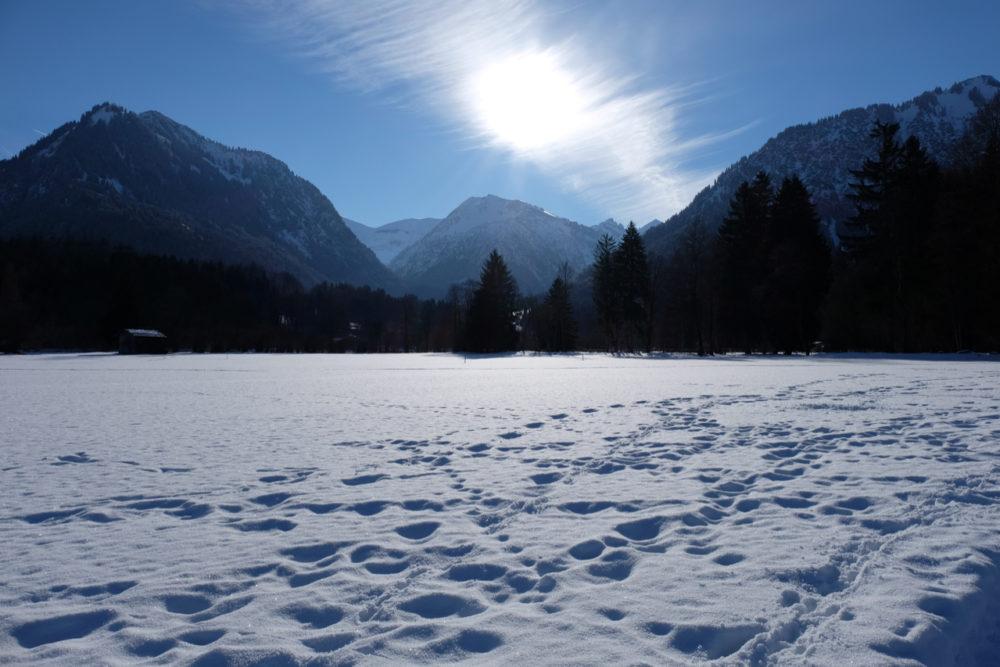Winter in Oberstdorf