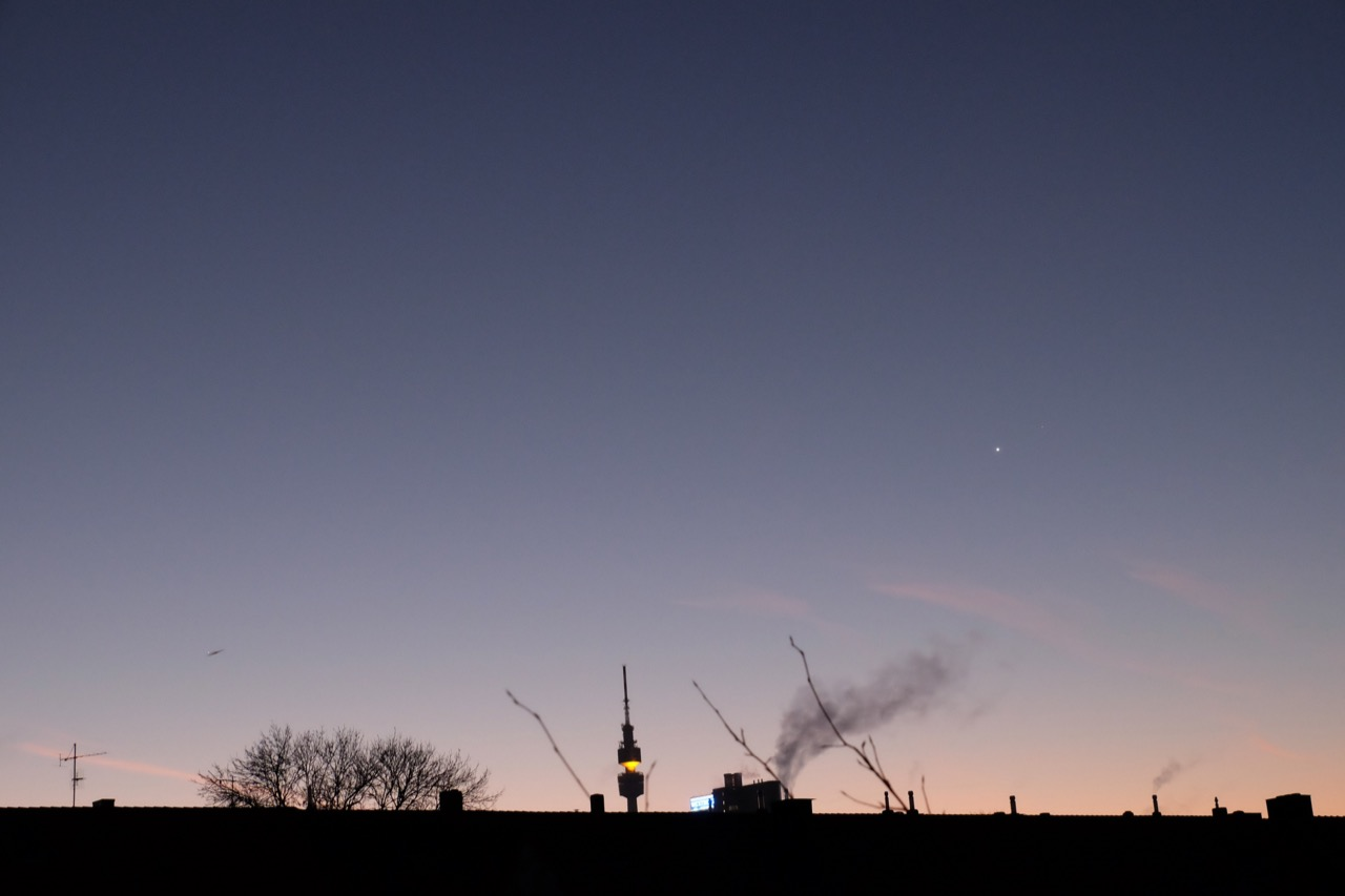 Sonnenaufgang mit Venus