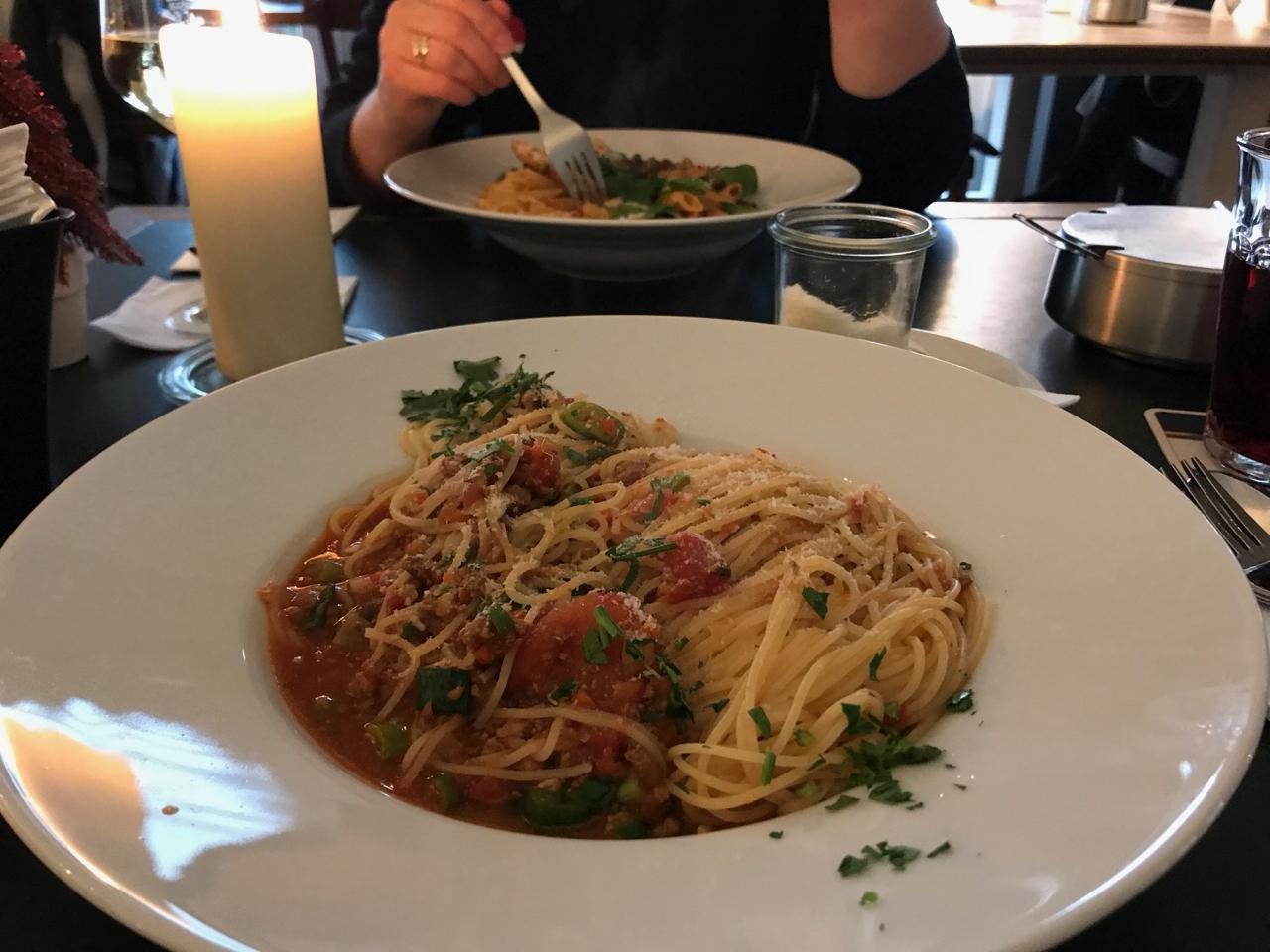 Mittagspause mit Pilla