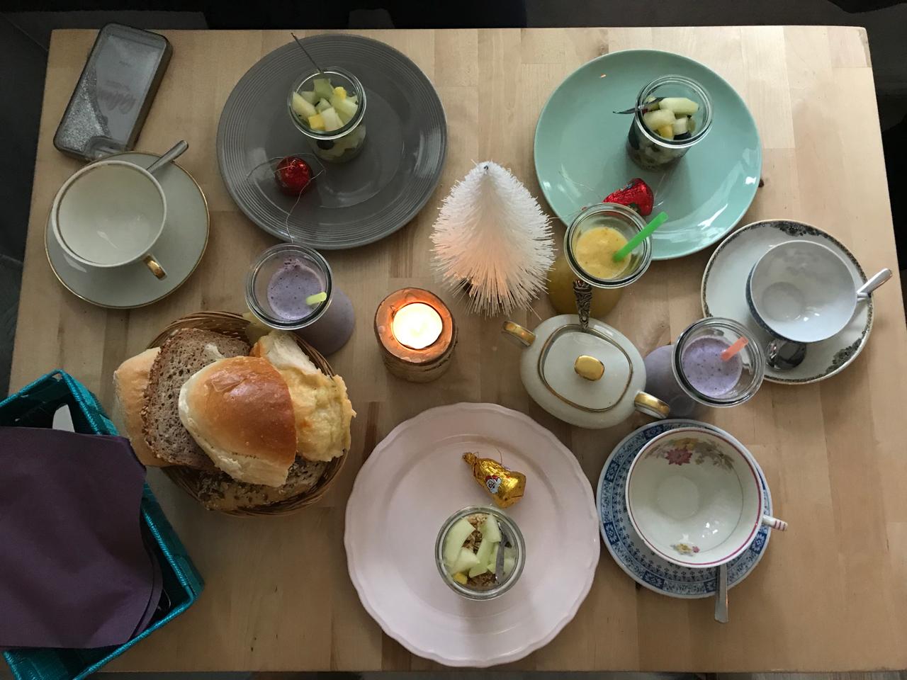 Weihnachtsfrühstück bei Oma Rosa