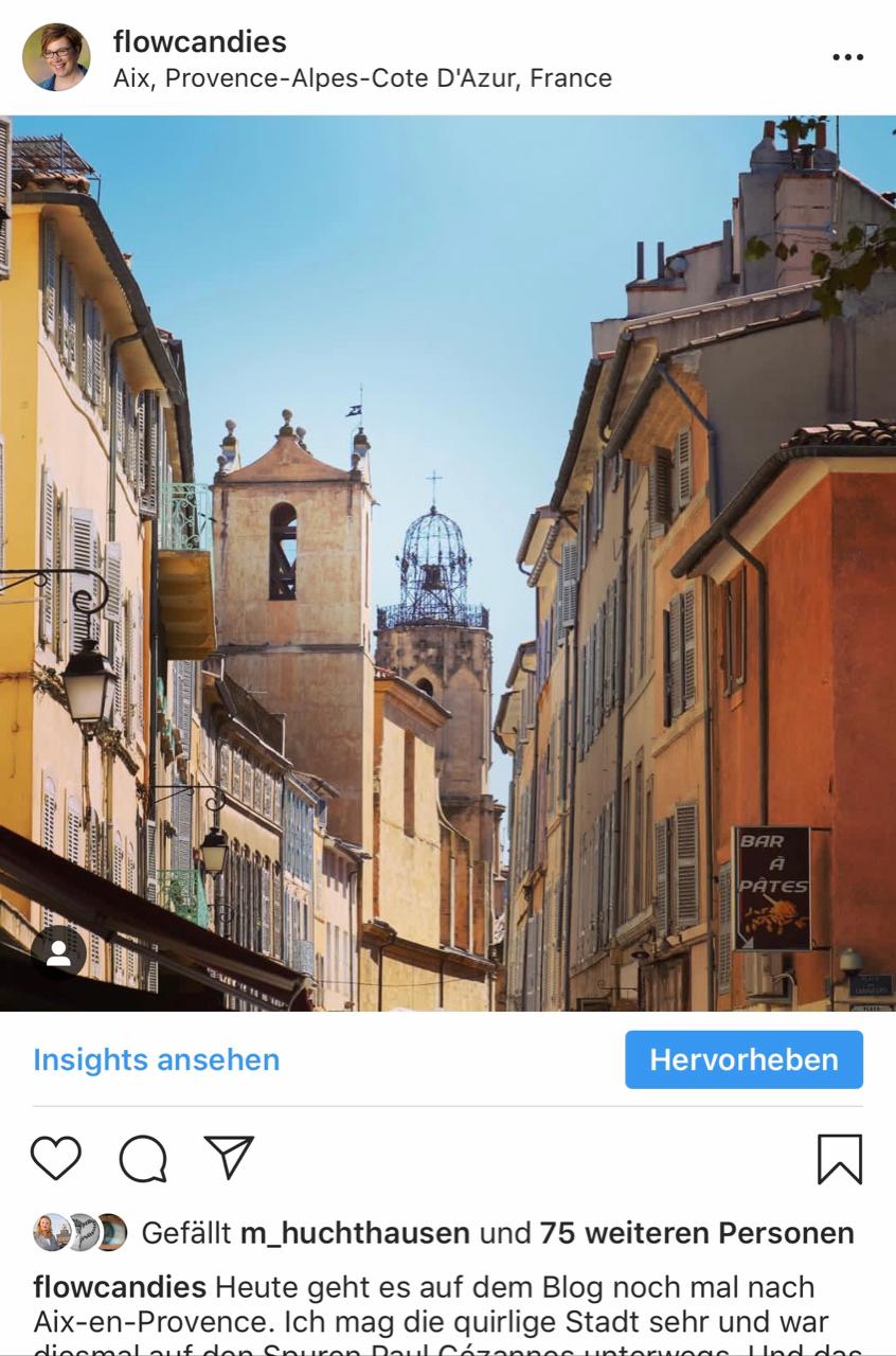 Instagram: AIx-en-Provence