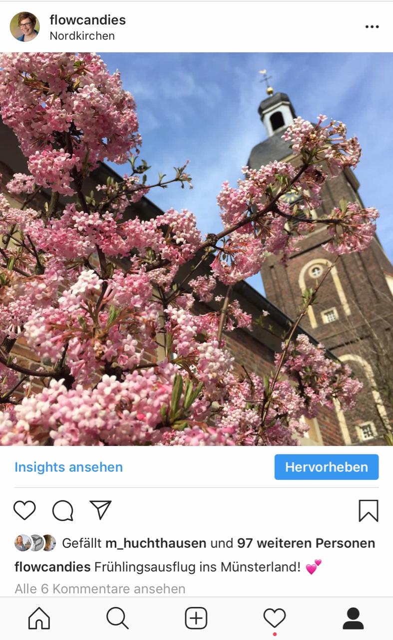 Instagram Frühling