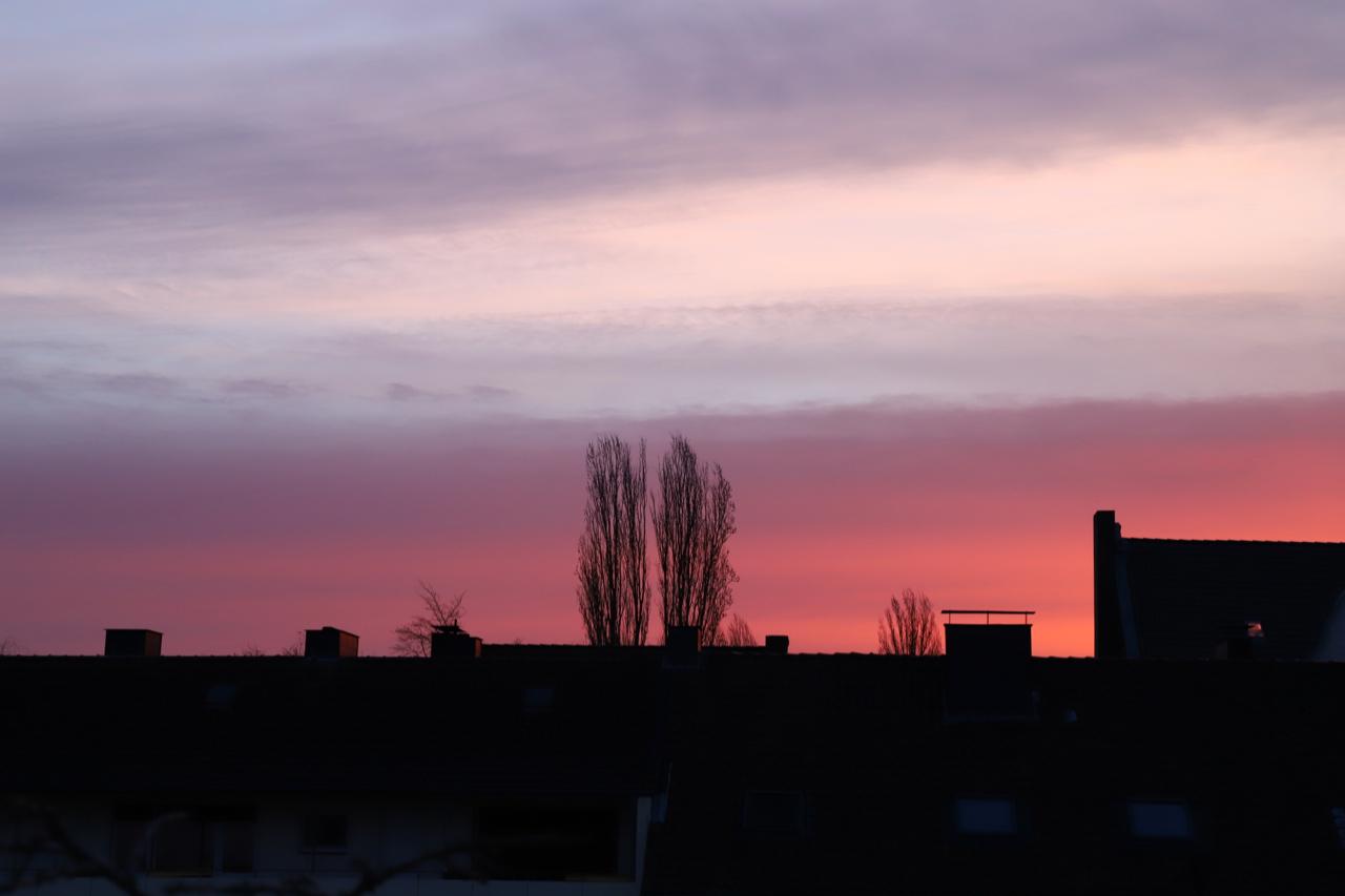 Sonnenaufgang über Dortmund