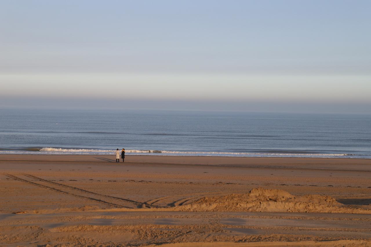 Noordwijk Strand am Morgen