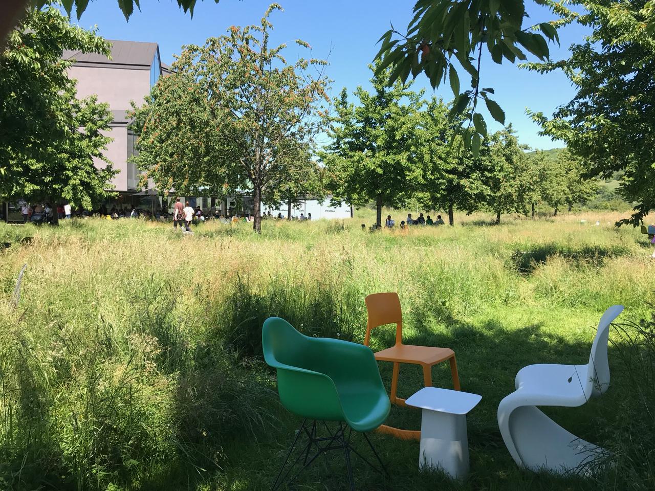 Vitra Design Museum: Garten
