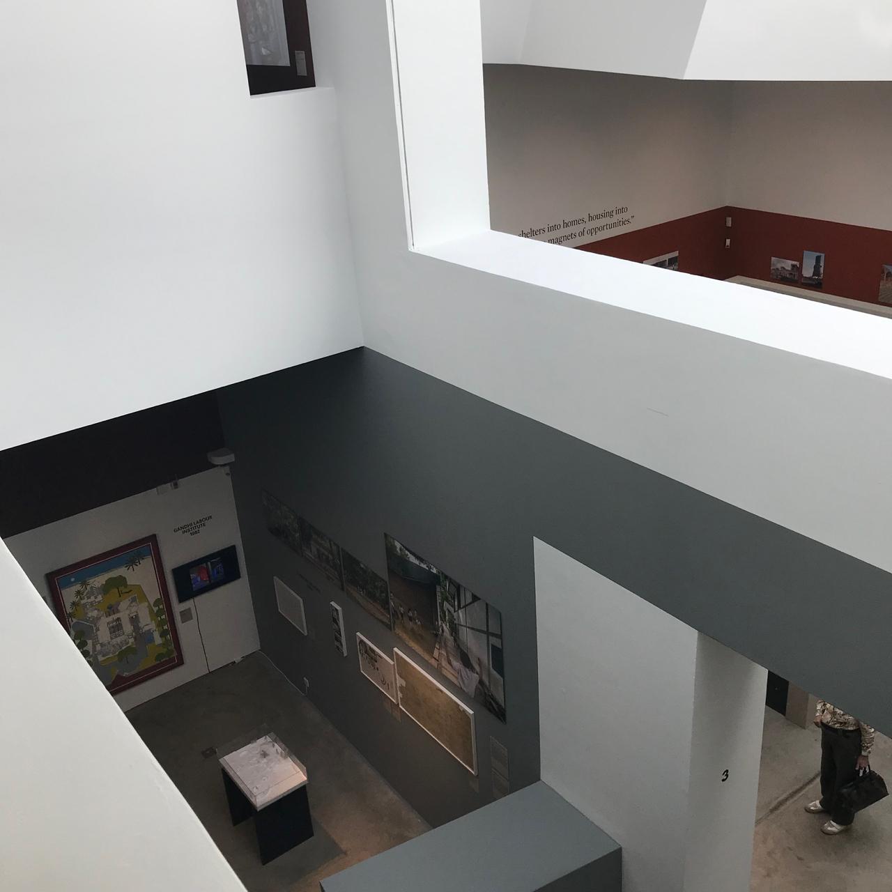 Vitra Design Museum: Innenansicht Hauptgebäude