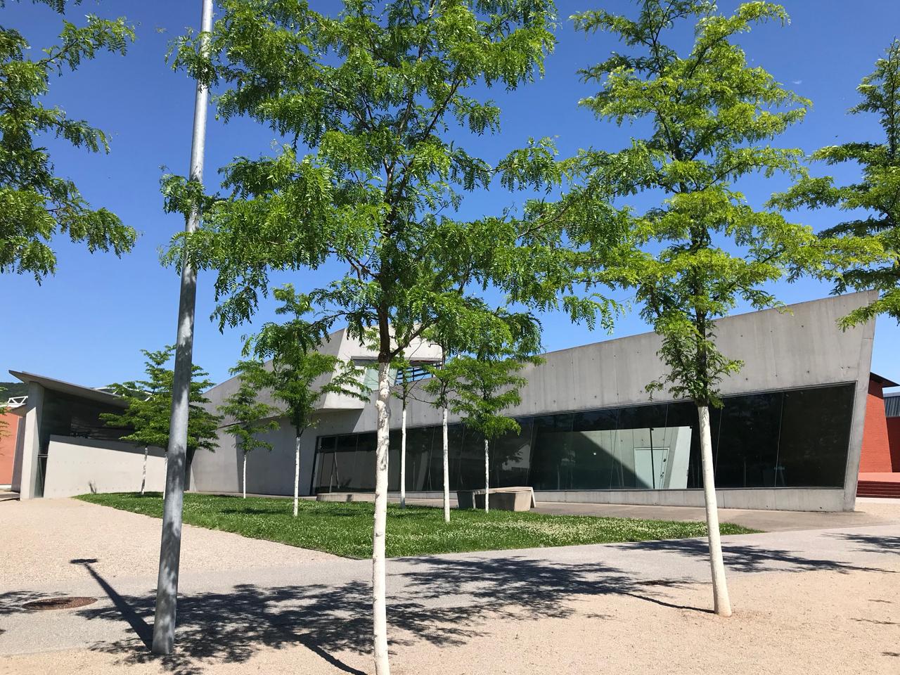 Vitra Campus: Feuerwehrhaus von Zaha Hadid