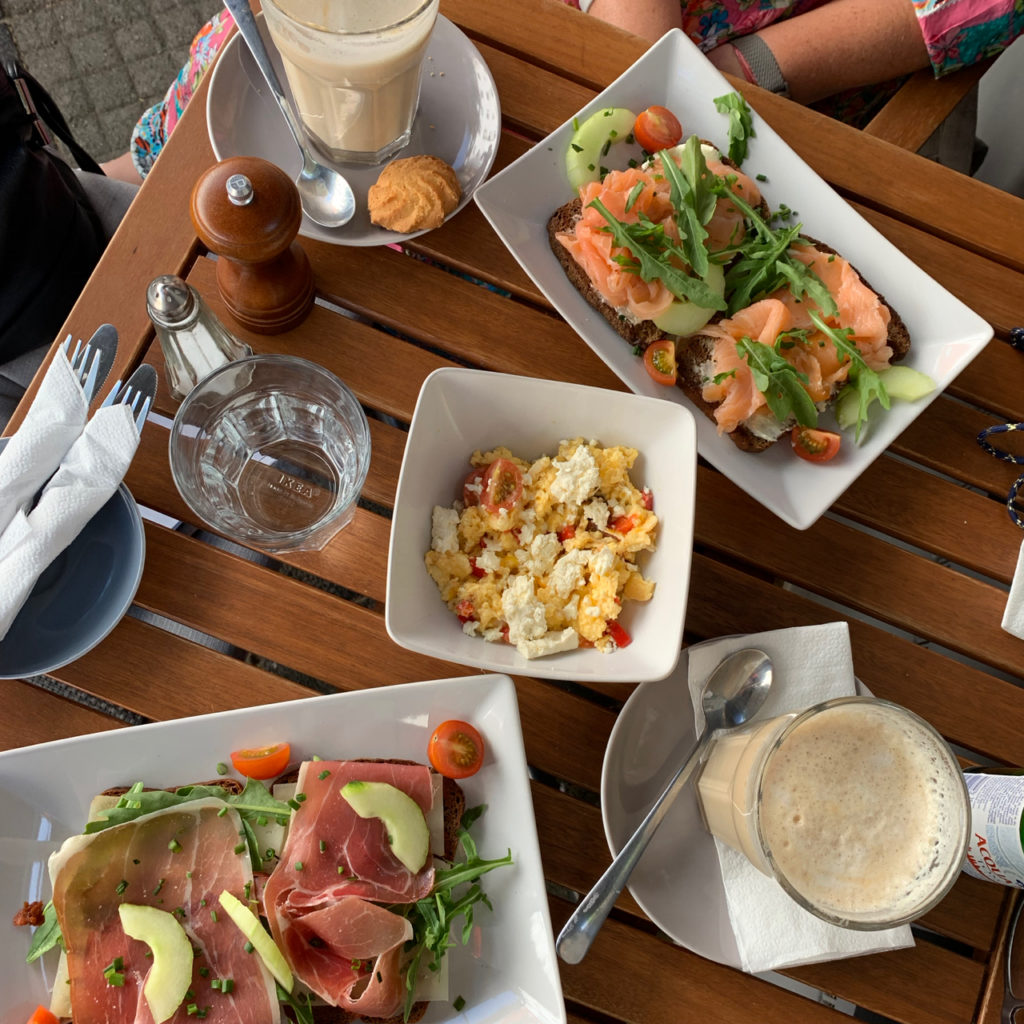 Frühstück bei Anne Möller