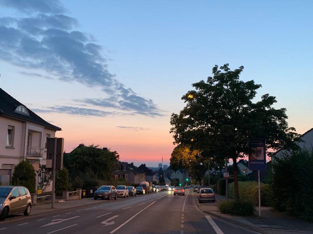 Sommerabend irgendwo in Dortmund