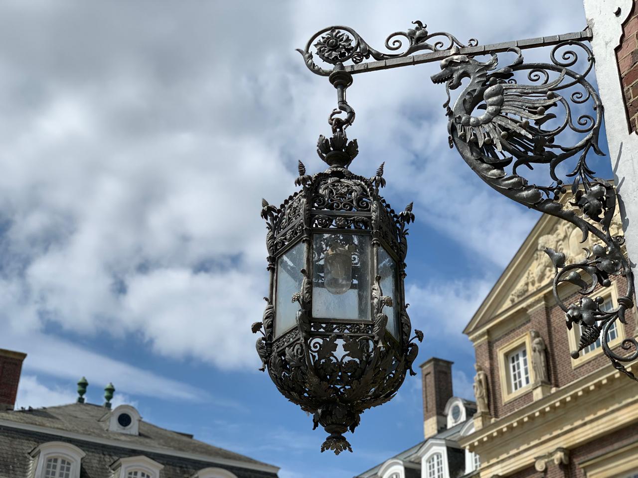Schloss Nordkirchen: Lampe