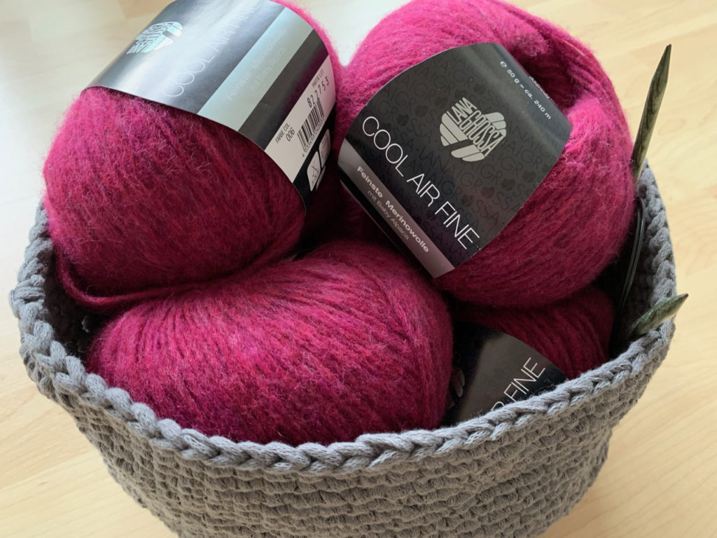 Wolle für den neuen Schal