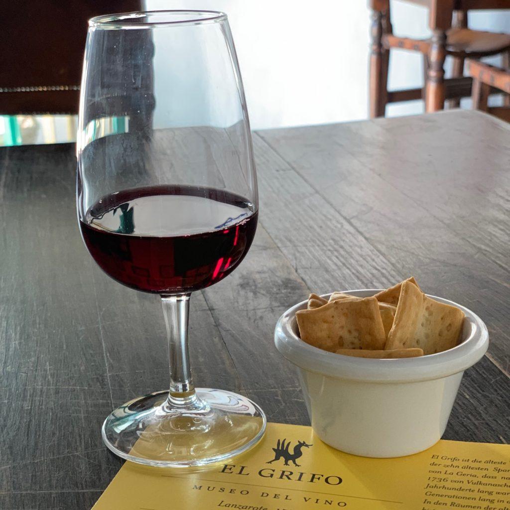 Lanzarote: Wein von El Grifo