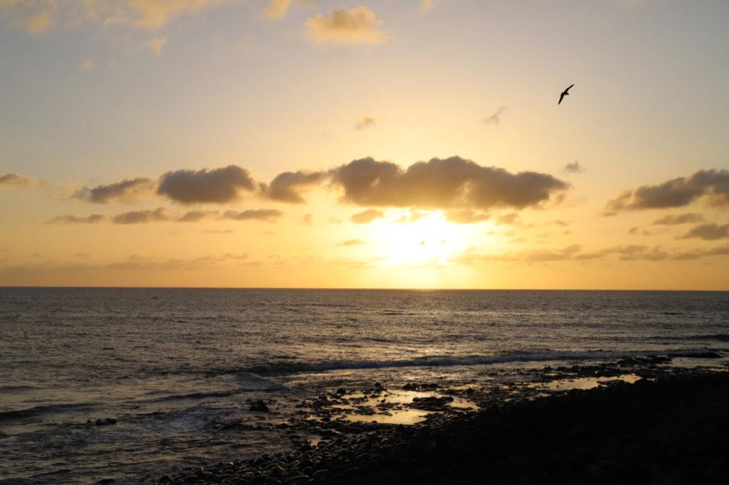 El Golfo: Sonnenuntergang