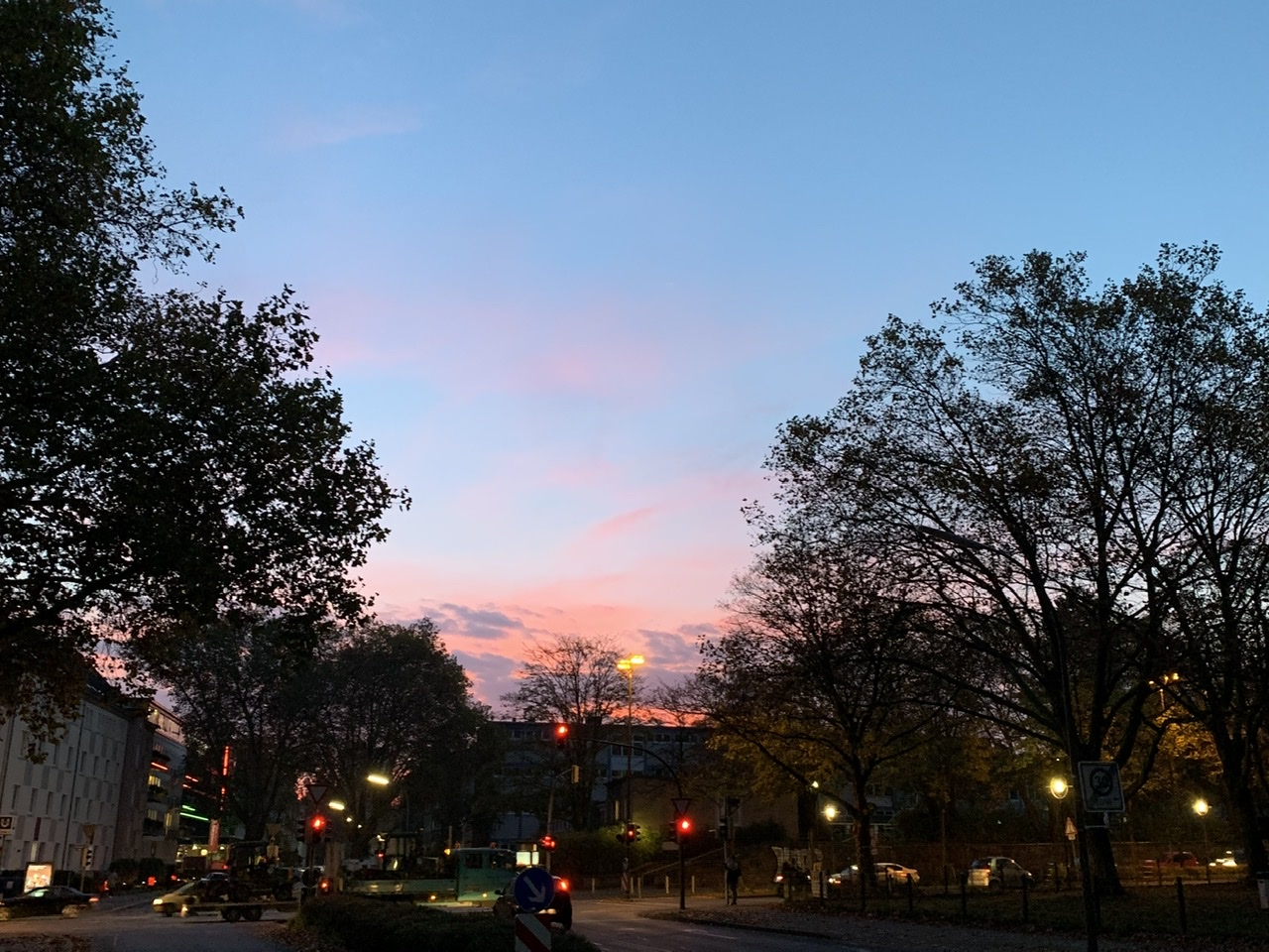 Sonnenaufgang in Dortmund