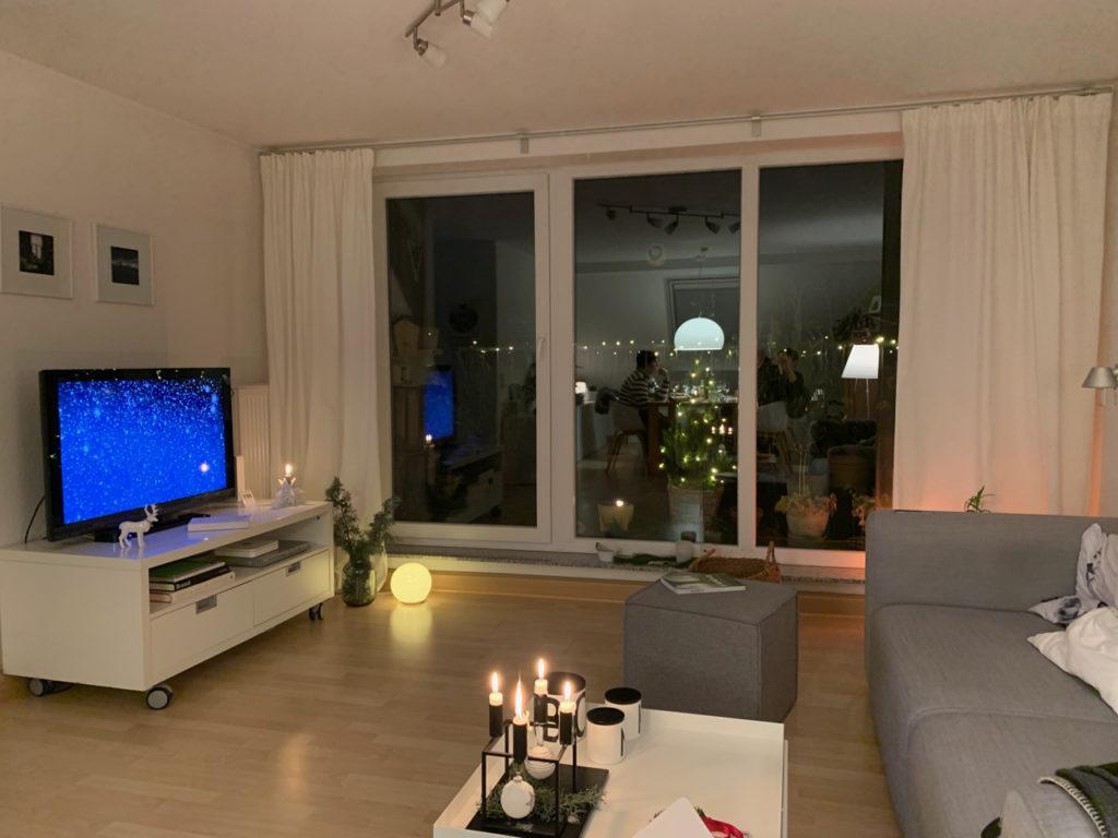 Winterabend: Mein Wohnzimmer