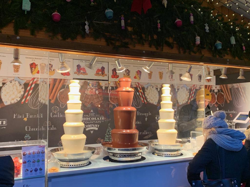 Wien Weihnachtsmarkt vor dem Rathaus