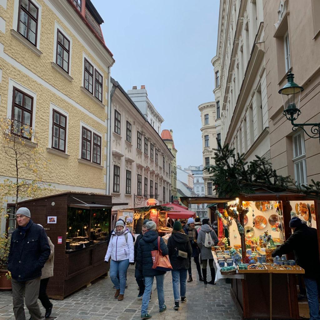 Weihnachtsmarkt am Spittelberg
