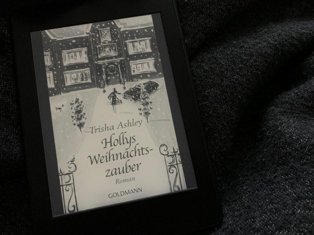 """""""Buch Hollys Weihnachtszauber"""" auf dem eReader"""